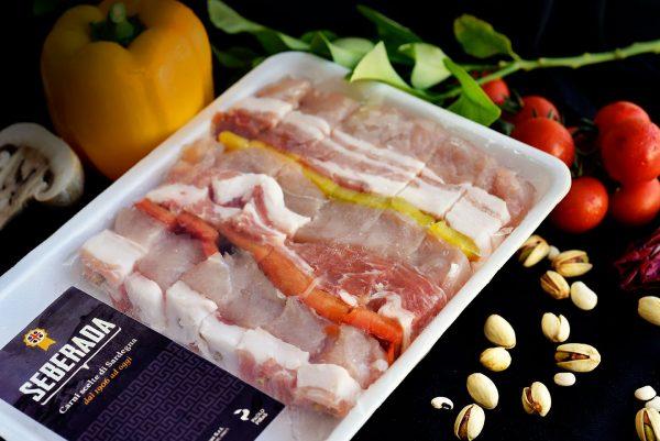 Paolo Piras Seberada, foto di prodotto (carne)